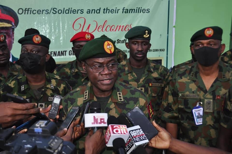 """BE PROFESSIONAL AND COMPETENT"""" COAS URGES TROOPS"""