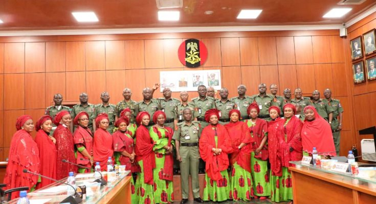 NAOWA NATIONAL PRESIDENT CONGRATULATES COAS ON HIS APPOINTMENT…ASSURES HIM OF SUPPORT